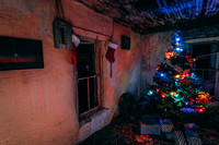 Christmas Tree in Abandoned Home Project 2019 - 2