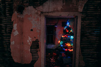 Christmas Tree in Abandoned Home Project 2019 - 3