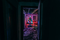 Christmas Tree in Abandoned Home Project 2019 - 5