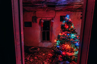 Christmas Tree in Abandoned Home Project 2019 - 1